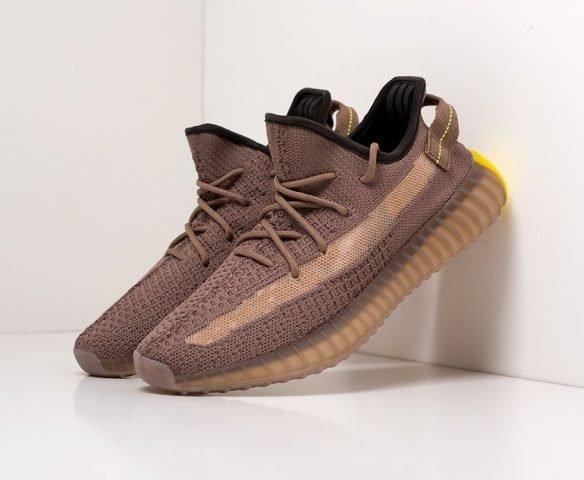 Adidas Yeezy 350 Boost v2 low коричневые
