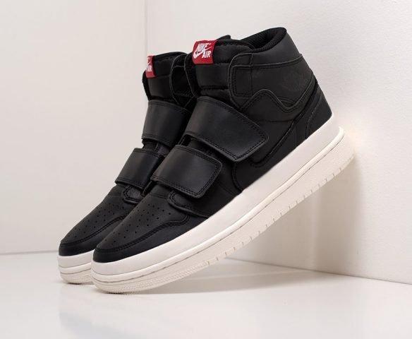 Nike Air Jordan 1 High Double Strap black