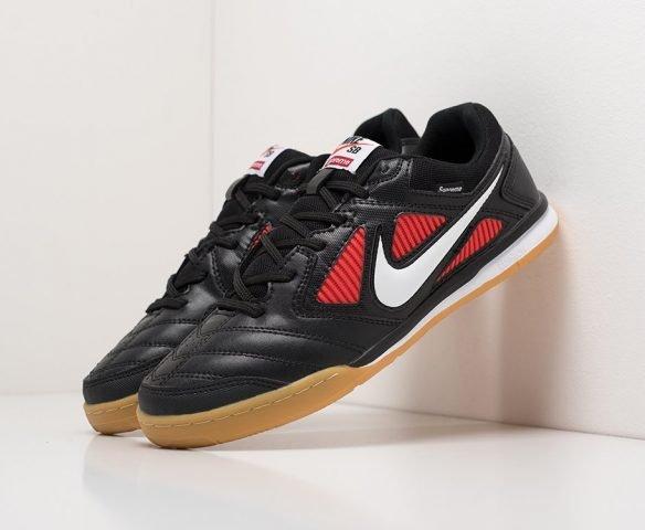 Футбольная обувь Nike Tiempo black leather