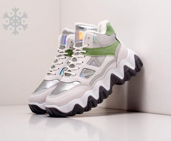 Fashion winter white-silver