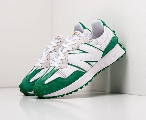 New Balance 327 white-green