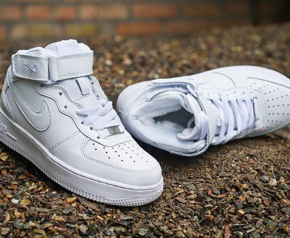 Nike Air Force 1 белые