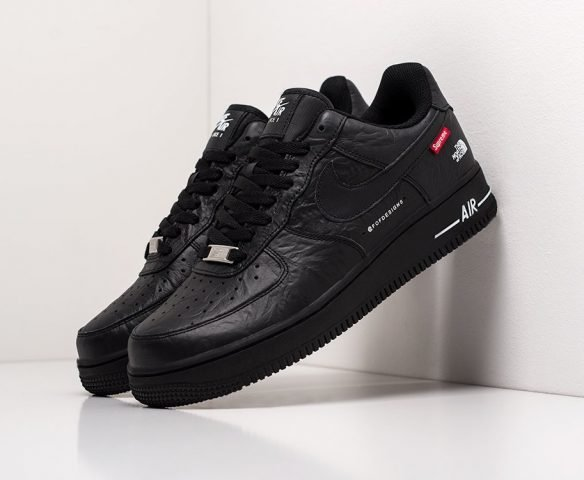 Nike x The North Face Force 1 черные
