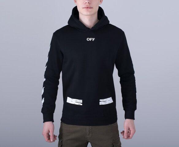 Худи OFF-WHITE черный