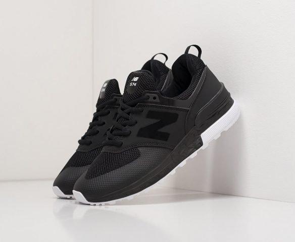New Balance 574 black черные