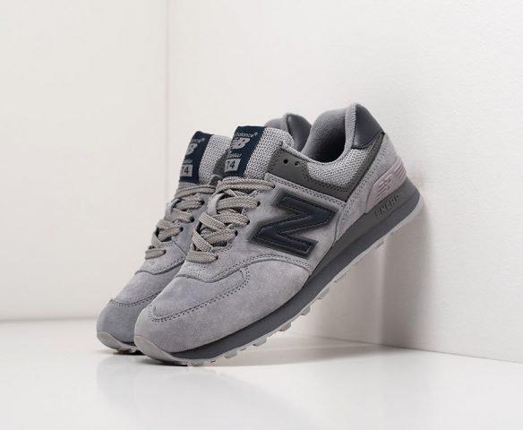 New Balance 574 серые (grey)