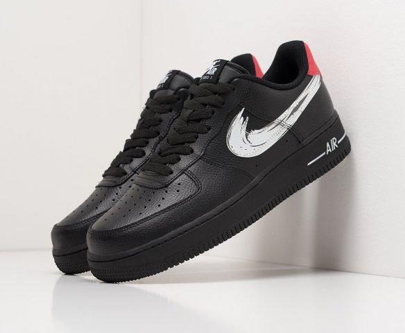 Nike Air Force 1 Low черно-белые