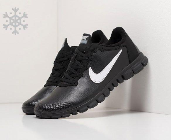 Nike Free Run 3.0 leather black