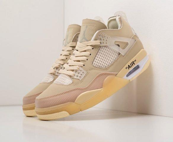 Nike x OFF White Air Jordan 4 Retro