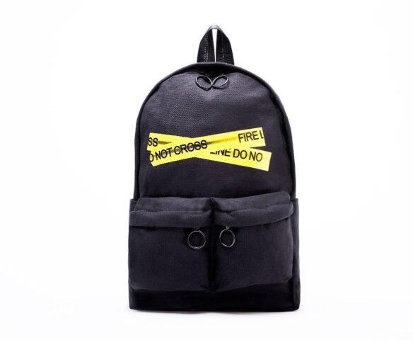 Рюкзак OFF-WHITE black-yellow