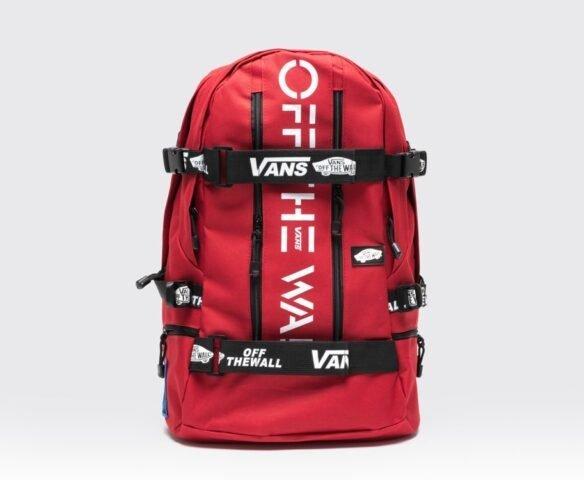 Рюкзак Vans красный