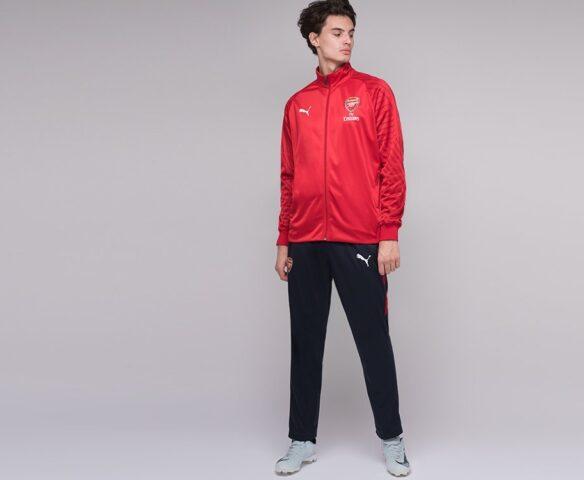 Спортивный костюм Puma FC Arsenal черно-красный