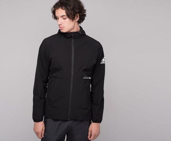 Ветровка Adidas черная
