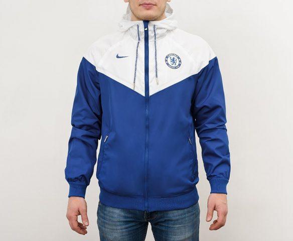 Ветровка Nike синяя