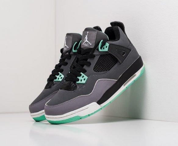 Nike Air Jordan 4 Retro серые