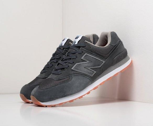 New Balance 574 черные (black)
