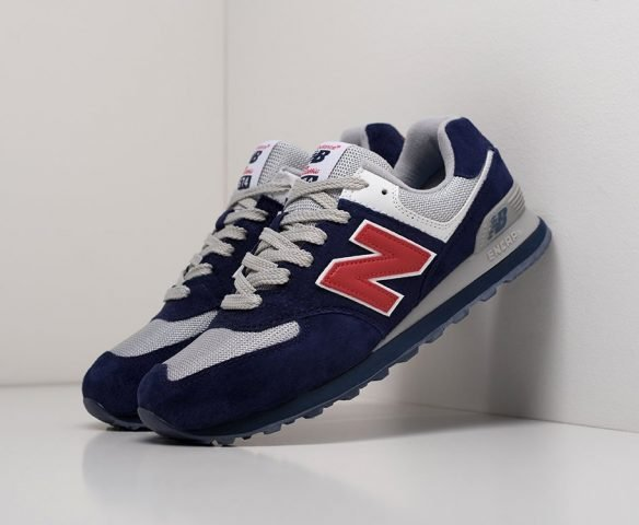 New Balance 574 серо-синие