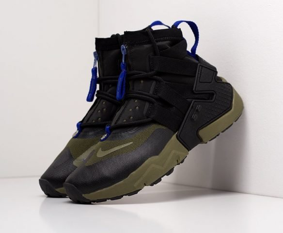 Nike Air Huarache Gripp high black