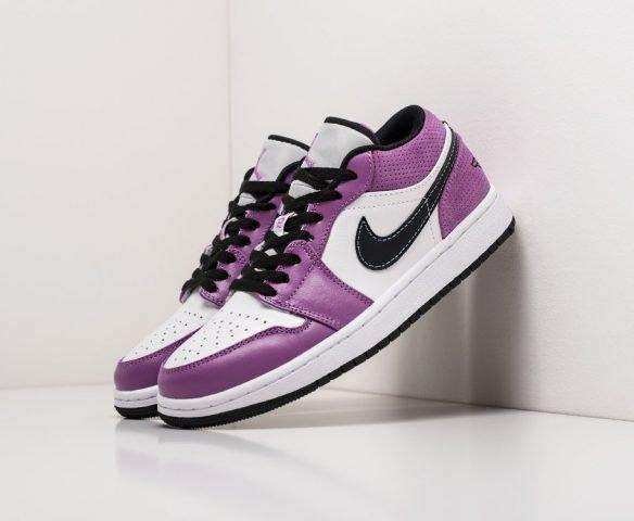 Nike Air Jordan 1 Low white-purple