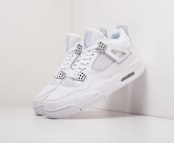 Nike Air Jordan 4 Retro белые