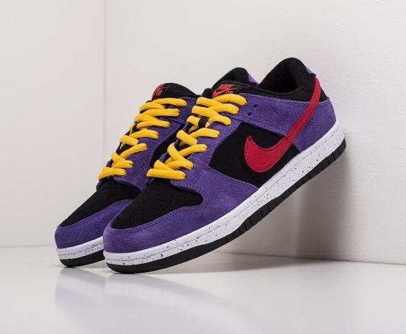 Nike SB Dunk Low фиолетовые