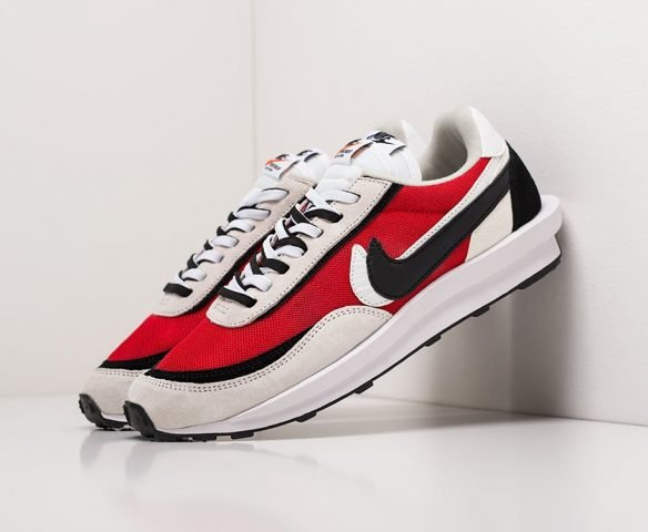 Nike x Sacai LDV Waffle white-red