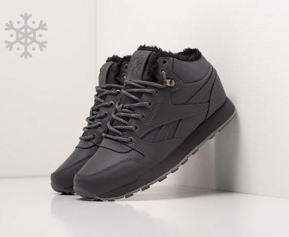 Reebok Classic Leather Mid Ripple dark grey