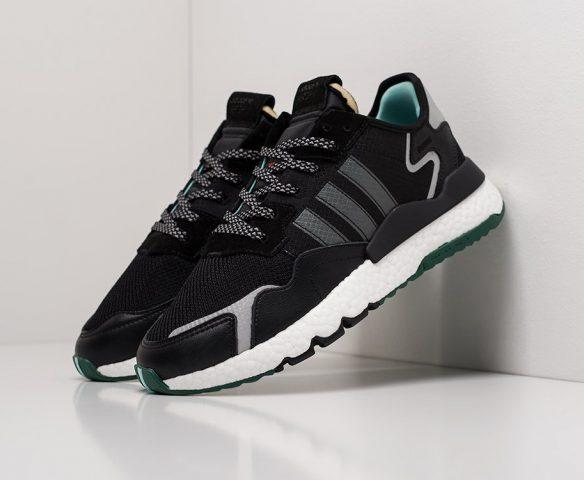 Adidas Nite Jogger черно-белые