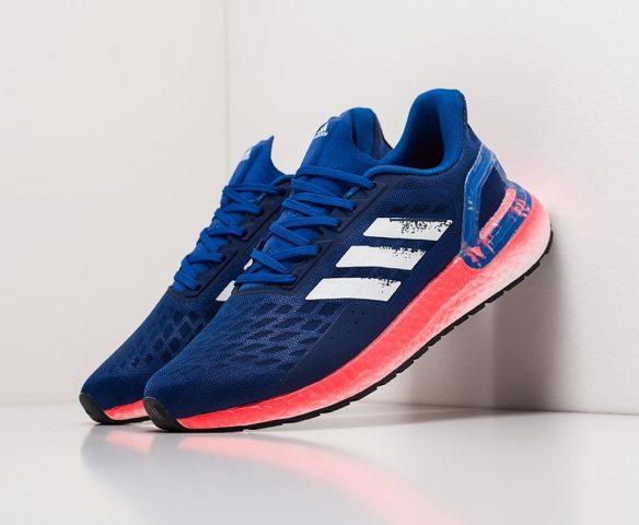 Adidas Ultra Boost 20 синие. Вид 1
