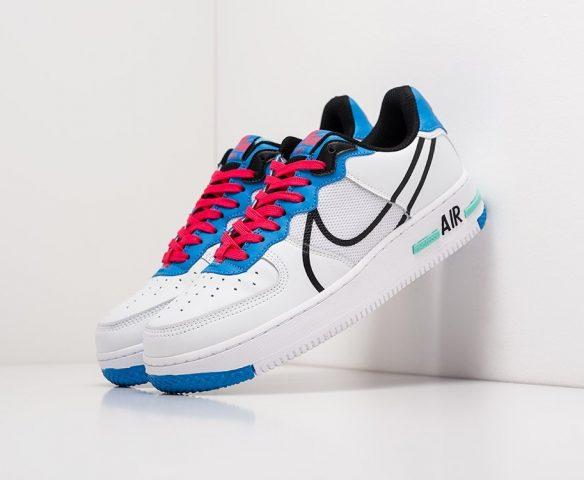 Nike Air Force 1 Low React wmn lthr white