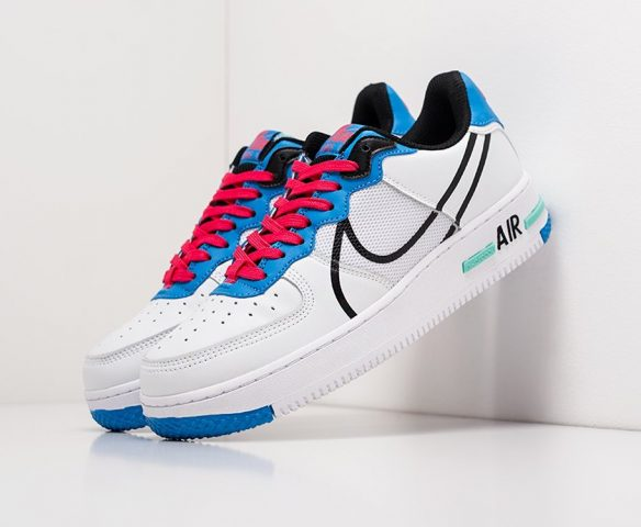 Nike Air Force 1 Low React белые