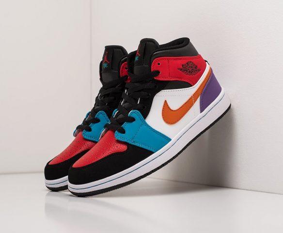 Nike Air Jordan 1 wmn lthr multicolored