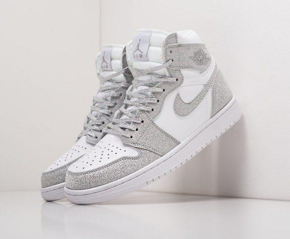 Nike Air Jordan 1 wmn white-grey