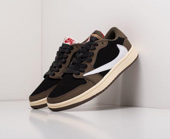 Nike Air Jordan 1 Low x Travis Scott black-brown