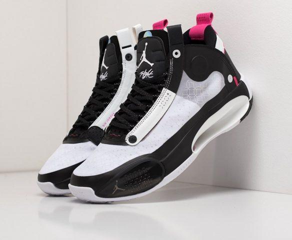 Nike Air Jordan XXXIV black-white