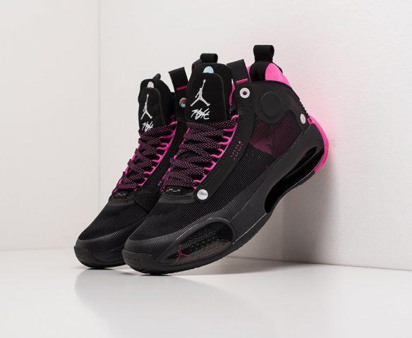 Nike Air Jordan XXXIV black-pink
