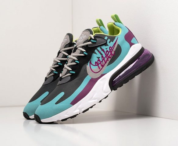 Nike Air Max 270 React low multicolored