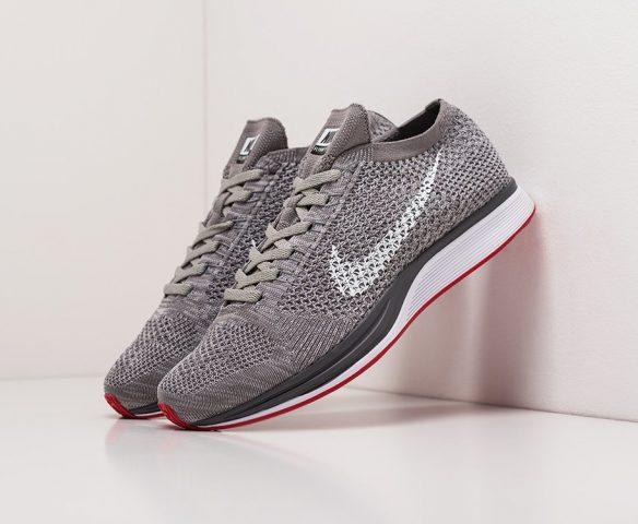 Nike Flyknit Racer серые