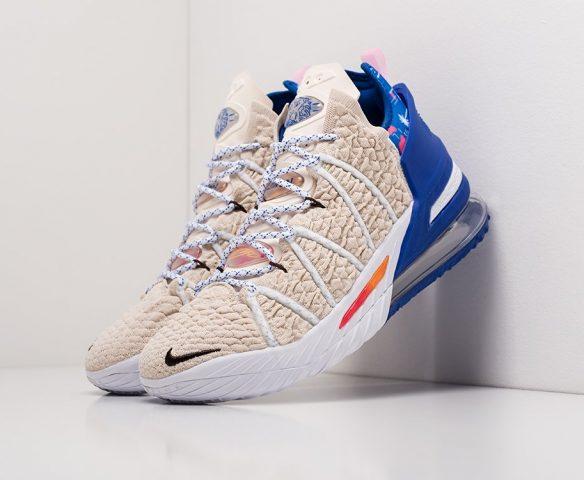 Nike Lebron XVIII white