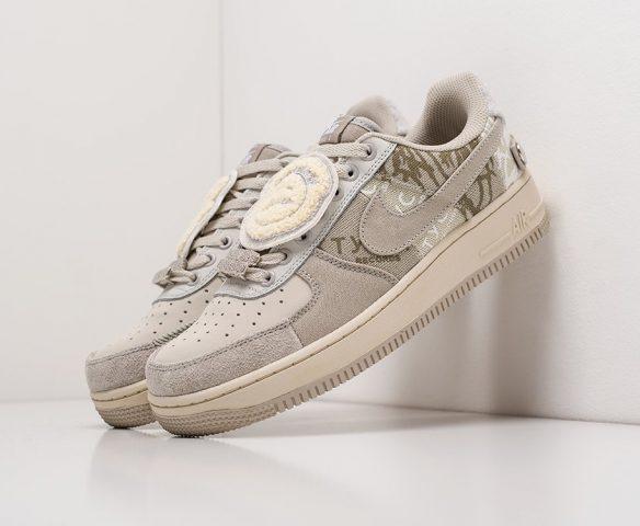 Nike x Travis Scott Air Force 1 Low серые