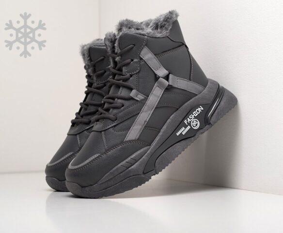 Ботинки Fashion черные зимние