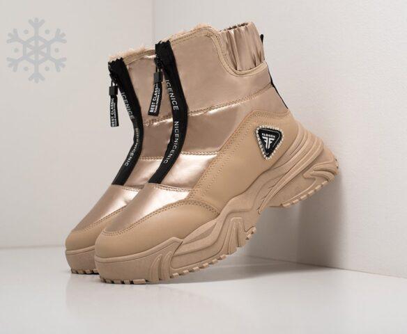 Ботинки Fashion бежевые