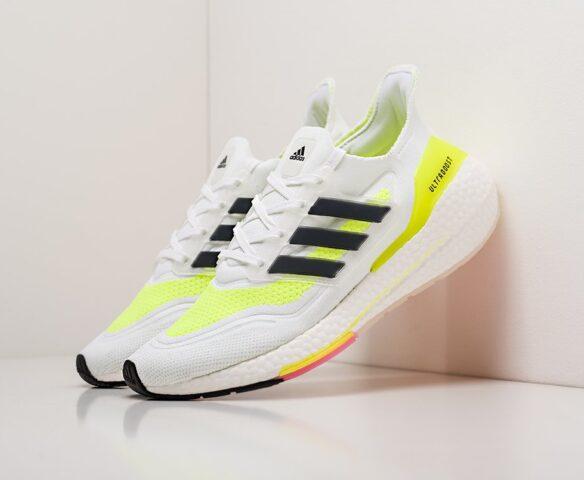 Adidas Ultra Boost 21 белые
