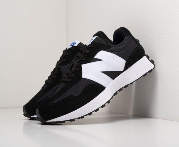 New Balance 327 black черные