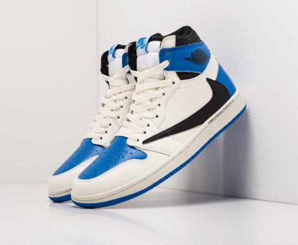 Nike Air Jordan 1 x Travis Scott white wmn