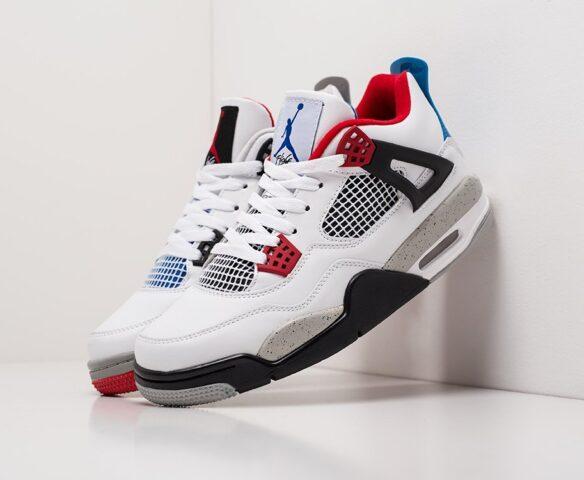 Nike Air Jordan 4 Retro white белые
