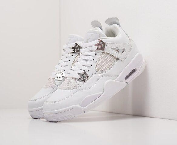 Nike Air Jordan 4 Retro серые wmn