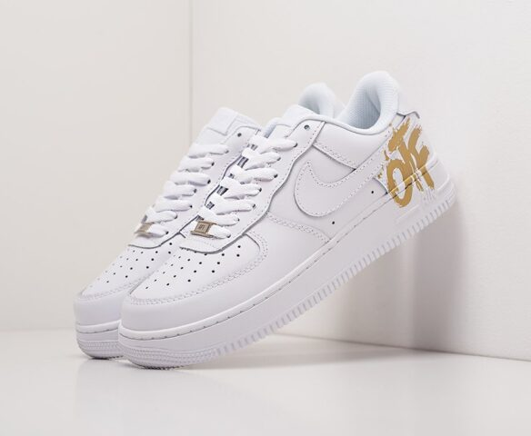 Nike x OFF-White Air Force 1 Low белые